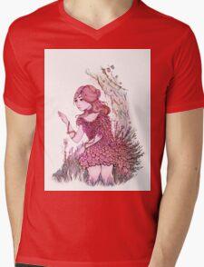 The Flower  Mens V-Neck T-Shirt