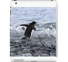 Adelie Penguins Antarctica 2B iPad Case/Skin