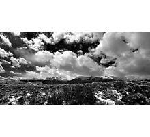 Mount Powell and Meridian Peak Photographic Print