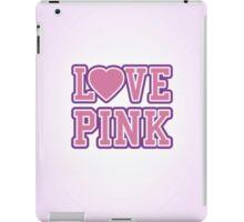LOVE PINK iPad Case/Skin
