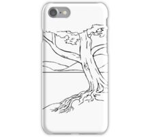 Tree by the water iPhone Case/Skin