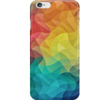 Abstract Color Wave Flash iPhone Case/Skin