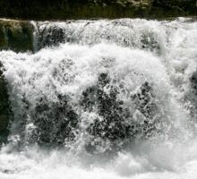 The River Runs Through It Sticker