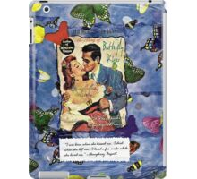 Butterfly Kisses iPad Case/Skin