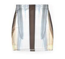 Fashion faux, draped skirt, NEW DESIGN by AK Mini Skirt