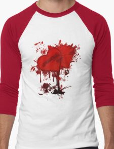 Valentine  Men's Baseball ¾ T-Shirt
