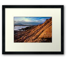Wide Rock Flow-Second Look Framed Print