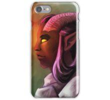 Ashley, the Tiefling Paladin iPhone Case/Skin