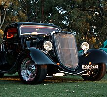 1933 Black Ford Coupe by Ferenghi
