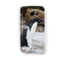 Adelie Penguin in Brown Bluff, Antarctica 6 Samsung Galaxy Case/Skin
