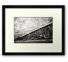 street geometry Framed Print
