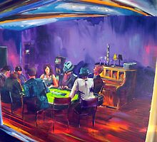 Marita's garage - Texas Holdem by tola