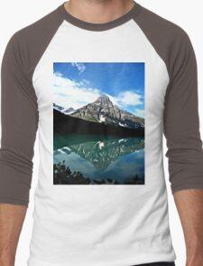 Mountain Reflections Men's Baseball ¾ T-Shirt