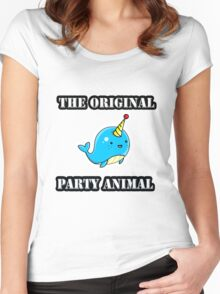 Original Party Animal Women's Fitted Scoop T-Shirt