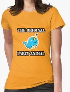 Original Party Animal Womens Fitted T-Shirt
