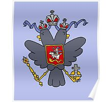 Russian Imperial Crest Poster