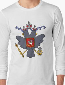 Russian Imperial Crest Long Sleeve T-Shirt