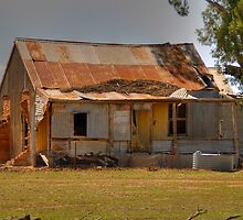 Pioneer Homestead, near Young, NSW, Australia by Adrian Paul