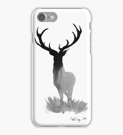 The Stag of Dawn iPhone Case/Skin
