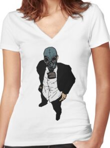 What The Hell Are You Lookin' At? Women's Fitted V-Neck T-Shirt