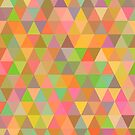- Colored triangles pattern - by Losenko  Mila