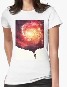 The universe in a soap-bubble! Womens Fitted T-Shirt