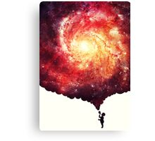 The universe in a soap-bubble! Canvas Print
