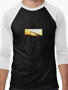 Blade Droplet Men's Baseball ¾ T-Shirt