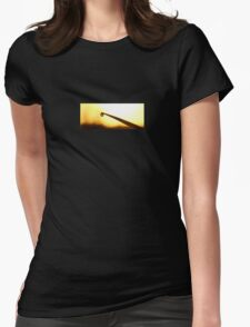 Blade Droplet Womens Fitted T-Shirt