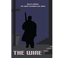 The Wire minimalist work Photographic Print