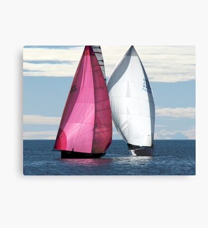 Two Of Us Canvas Print