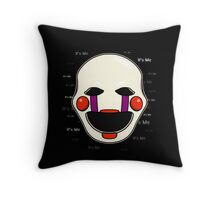 Five Nights at Freddy's - FNAF 2 - Puppet - It's Me Throw Pillow