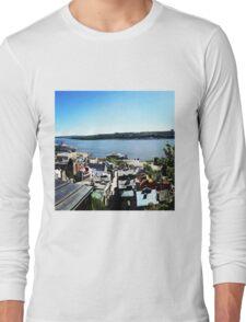 Quebec City's old port Long Sleeve T-Shirt
