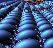 Undulating Spheres (25-3) by Hugh Fathers