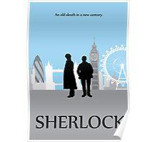 Minimalist Sherlock Work Poster