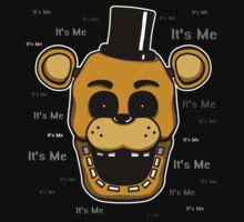 Five Nights at Freddy's Freddy Golden Freddy - It's Me Kids Clothes