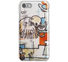 Mammoth - Hand Painted Monoprint iPhone Case/Skin