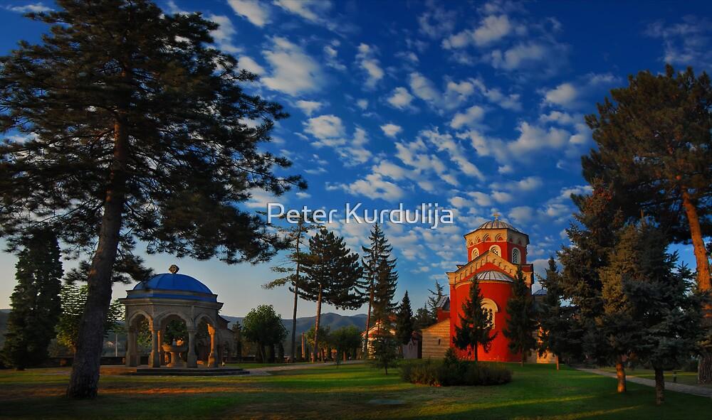 The Soulful Stillness of a Monastery Sunrise by Peter Kurdulija