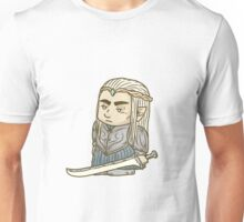 The Tiny Elven Warrior King Unisex T-Shirt