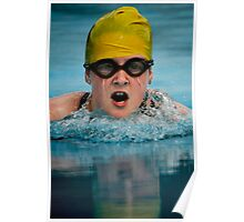 Don't you hate it when your goggles fill up with water!! Poster
