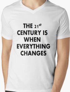 Torchwood 21st CENTURY Mens V-Neck T-Shirt