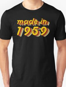 Made in 1959 (Yellow&Red) T-Shirt