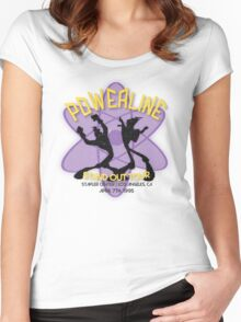 Vintage Powerline Concert Logo - A Goofy Movie Women's Fitted Scoop T-Shirt