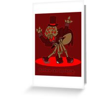 Spiders can Tapdance Greeting Card
