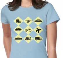 Travel Ride Womens Fitted T-Shirt