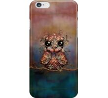 little rainbow flower owl iPhone Case/Skin