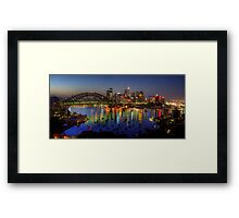 Reflective Moods - Moods Of A City - The HDR Experience Framed Print