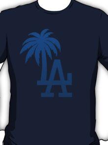 Los Angeles Dodgers Tropical Logo T-Shirt
