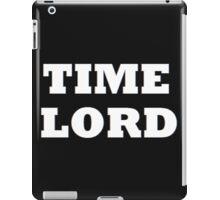 TIME LORD iPad Case/Skin