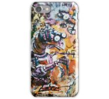 Creatures - Hand Painted Monoprint iPhone Case/Skin